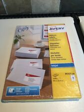 Avery J8162-100 Address Labels Inkjet Printers 99.1 x 33.9 mm Total 1600 Labels