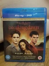 The Twilight Sage: Breaking Dawn Part 1 Blu-Ray - Excellent condition - Free P&P