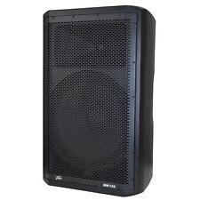 """Peavey DM115 Dark Matter 15"""" Two-way Bi-Amplified Analog Amp Powered PA Speaker"""