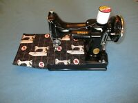 Custom Made, Limited Edition Bed Liner 4 Black Singer 221 Featherweight - LAST 1