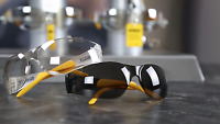 Dewalt DPG54-2C Protector Smoke/Clear High Performance  Safety GLASSES 2pack