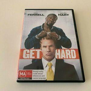 Get Hard (DVD, 2015) Will Ferrell, Kevin Hart R4 FREE POST