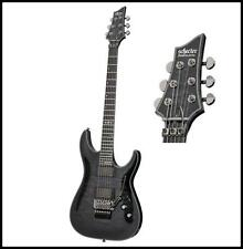 Schecter Hellraiser Hybrid C-1 FLoyd Rose Electric Guitar - Trans Black Burst