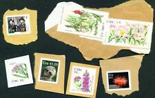 IRELAND - Various Unfranked Stamps on Paper (157 Euros total) FREE Postage
