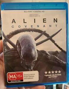 Alien - Covenant (Blu-ray, 2017)