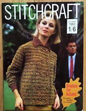 Vintage Stitchcraft Magazine. November 1963