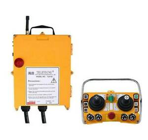 Wireless Electric Hoist Remote Control Transmitter +F24-60 Receiver Industrial