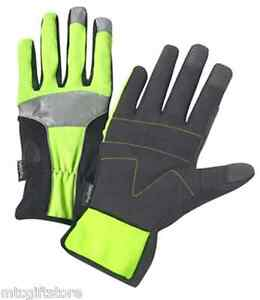 Safety Pro High Visibility Work Gloves Closeout Clearance # 00889 XL size Only