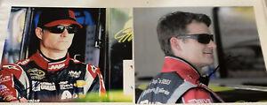 (2) Jeff Gordon autographed AXALTA DTEH AARP 8x10 PHOTOS lot HALL OF FAMER CHAMP