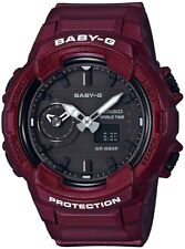 Casio BABY-G SHOCK BGA230S-4A Red Standard Analog-Digital Dual Time Unisex Watch