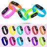 Fashion Unisex Men Women Digital LED Sports Watch Silicone Band Wrist Watches