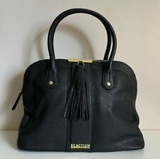 NEW! KENNETH COLE REACTION NORWAY BLACK DOME SATCHEL TOTE BAG PURSE $89 SALE
