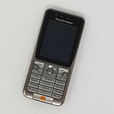 "Sony Ericsson K530i 3G 2"" - Basic Mobile - Brown - Excellent Condition - Orange"