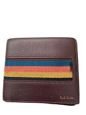 paul smith mens leather wallet