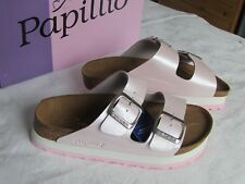 NEW Papillio Arizona Ladies Powder Pink Platform Mules Sandals UK Size 4.5 EU 37