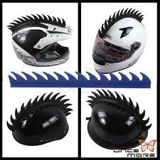 Motorcycle Helmet Blade Spike Mohawks Biker Helmets Decal Sticker WarHawk Mohawk