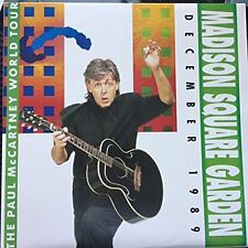 Paul McCartney - Madison Square Garden(180g Red,Blue,Clear Vinyl 3LP), 1989