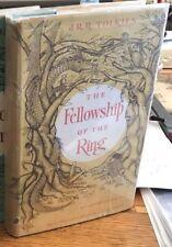 J.R.R. Tolkien THE LORD OF THE RINGS 1st U.S. 1st Printing FELLOWSHIP OF RING