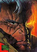 CABLE / 1995 Marvel Masterpieces (Fleer) Base Trading Card #13