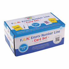 F.U.N. Empty Number Line Card Set Grades 2-3 - Educational - 338 Pieces