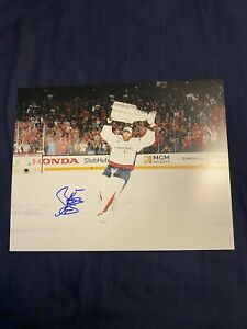 Braden Holtby Autographed Signed 11x14 Washington Capitals Photo Stanley Cup!!