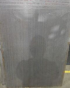 Cut Perforated Sheet Various Sizes 304 S/S 3mm thick R5 T8