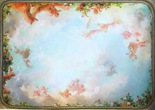 Dollhouse Miniature  Mural - Ceiling  #6117