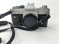 Canon FTb QL Film SLR Camera, Japan untested