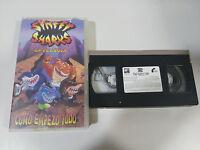 STREET SHARKS LA PELICULA COMO EMPEZO TODO VHS CINTA TAPE COLECCIONISTA ESPAÑA
