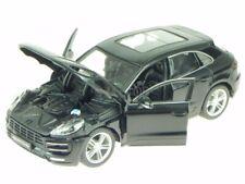 Porsche Macan black diecast model car 21077 Bburago 1/24