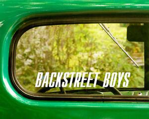 2 BACKSTREET BOYS DECAL Bogo Stickers For Car Truck Window Bumper Laptop Rv Jeep