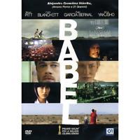 BABEL Dvd Nuovo Sigillato Brad Pitt