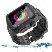 44mm For Apple Watch Series 4 Waterproof Armor Case Cover Band Strap iWatch IP68