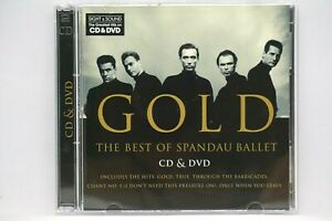 Spandau Ballet : Gold (The Best Of)  - Special Edition CD + DVD  Album
