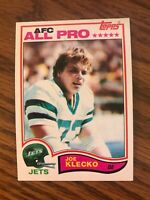 1982 Topps #171 Joe Klecko   New York Jets   NrMt
