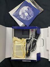 Sony Cyber-shot DSC-W120 7.2MP Digital Camera - Black  original box and kit