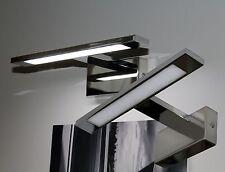 LED Wandleuchte Aufbauleuchte Chrom 4000K Badleuchte Spiegelleuchte Mod. LOOK-1