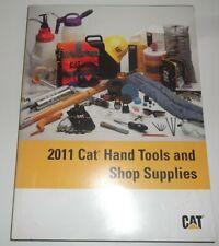 Cat Caterpillar 2011 Hand Tools Amp Shop Supplies Guide Book Catalog Manual