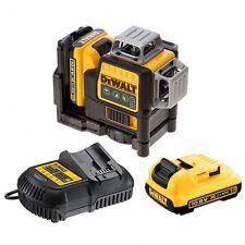 DEWALT dce089d2g Verde 360 ° Auto livellamento CROSS LINE LASER LEVEL 2 x batterie