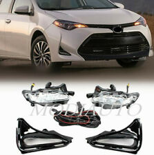 for Toyota Corolla 2017-2019 led Harness/switch/ front fog lamp driver lamp kit