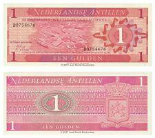 Netherlands Antilles 1 Gulden 1970 P-20 Banknotes UNC