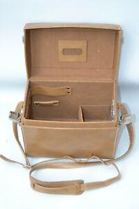 Vintage Hasselblad  leather shoulder camera bag