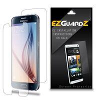 4X EZguardz FULL BODY LCD Screen Protector HD 4X For Samsung Galaxy S6 (Clear)