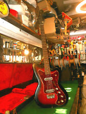 1966 Silvertone 1443 Vintage Electric Bass Guitar Full Scale, Danelectro USA