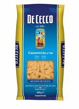 Pasta De Cecco 100 italienisch CASARECCIA N. 88 Nudeln 500g