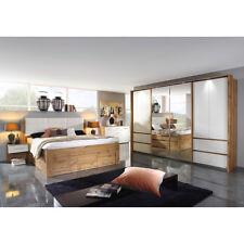 Schlafzimmer Weingarten Komplett Set in Eiche Wotan weiß inkl. Spiegel 4-teilig