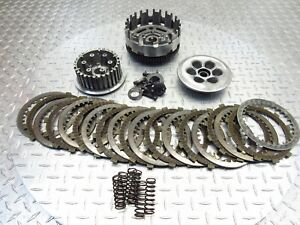 2009 08 09 Buell 1125CR 1125 OEM Clutch Basket Primary Plates Lot