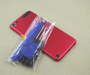 Red Metal Housing Case Cover Back Shell for iPod Touch 5th Gen 32GB 64GB