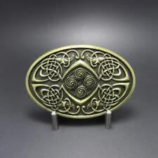 3D Celtic Knot Bronze Phoenix Infinity belt Buckle Irish detailed Medieval