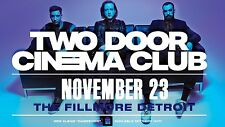 TWO DOOR CINEMA CLUB 2016 DETROIT CONCERT TOUR POSTER - Indie Rock/Pop Music